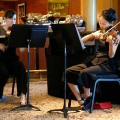 Musik in der Konditorei